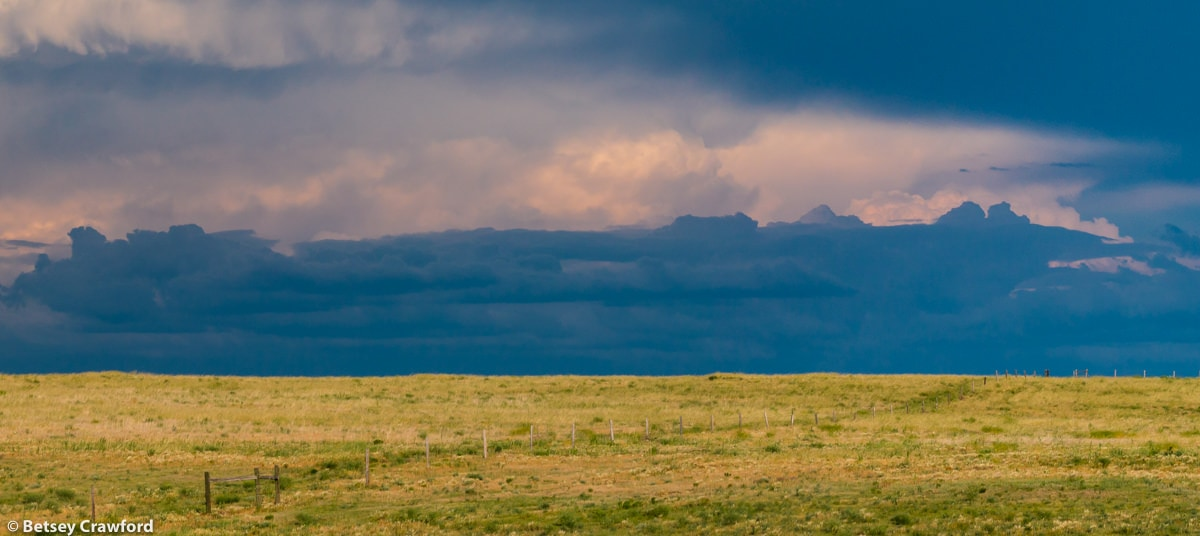 Storms in the distance, Pawnee National Grasslands, Colorado