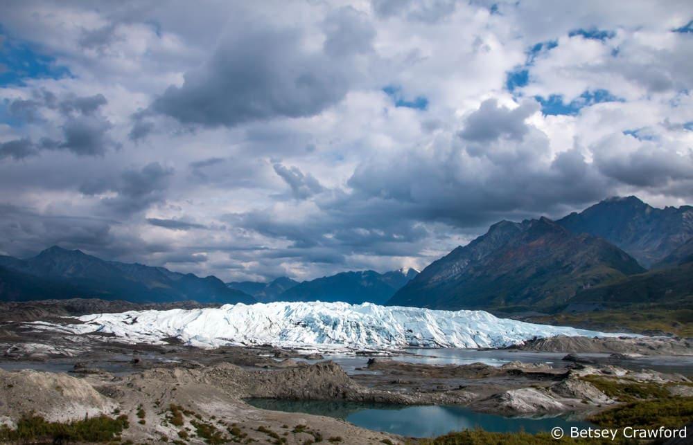 Matanuska glacier in Matsu Valley
