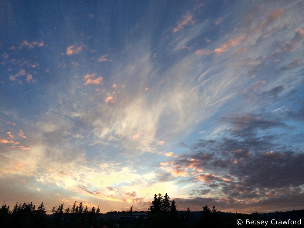 Sunset in Homer