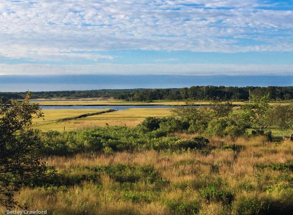 September beauty on Accabonac Harbor, East Hampton, New York by Betsey Crawford