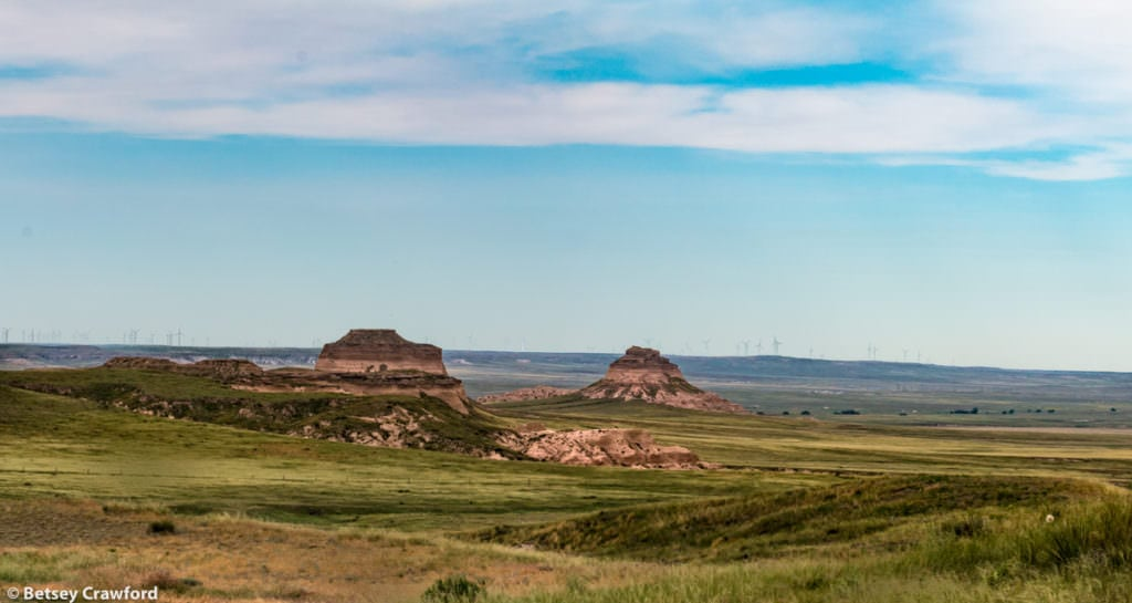 The Colorado Buttes in the Pawnee National Grasslands, northeastern Colorado, by Betsey Crawford