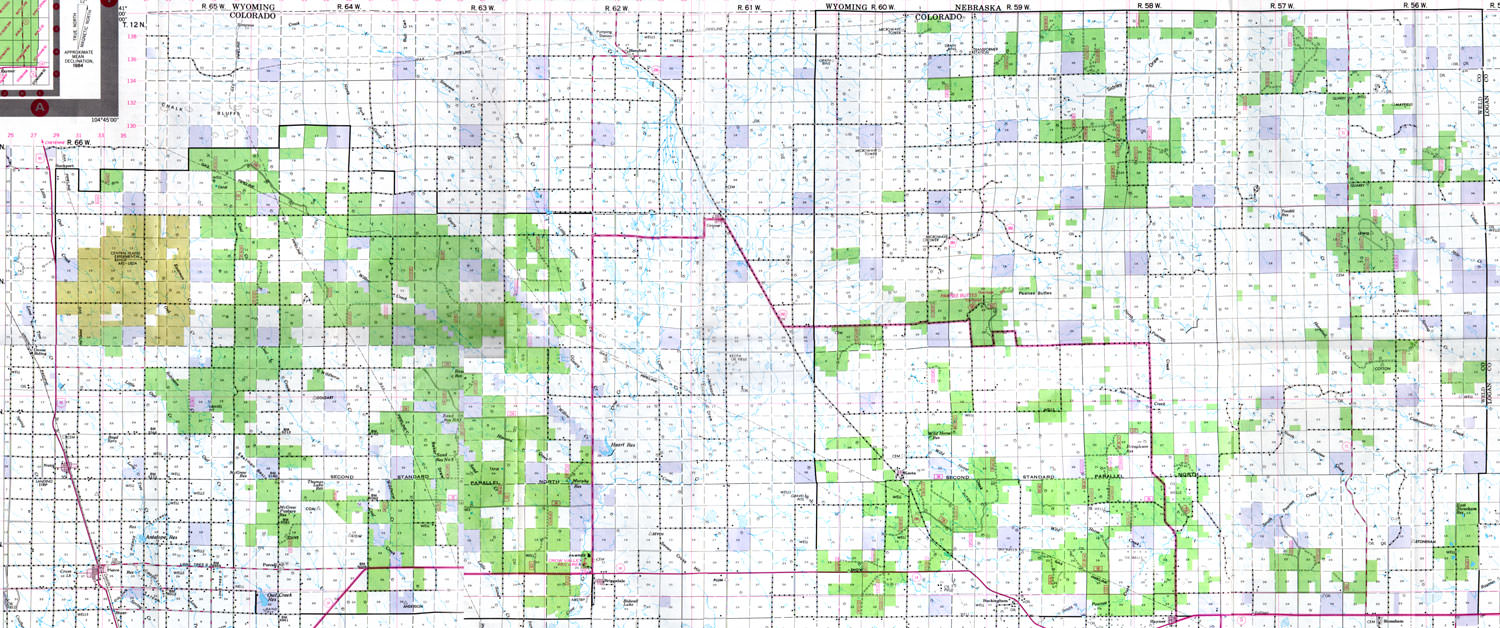 Parcels Of Prairie The Pawnee National Grasslands - Us forest map colorado