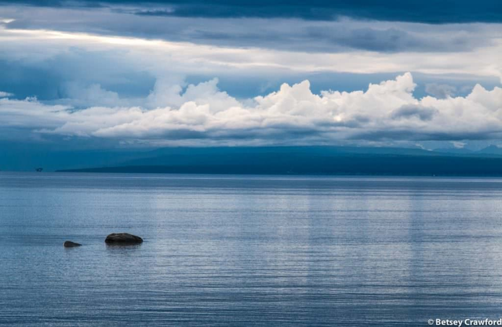 Cook Inlet from Captain Cook State Park in Kenai, Alaska by Betsey Crawford