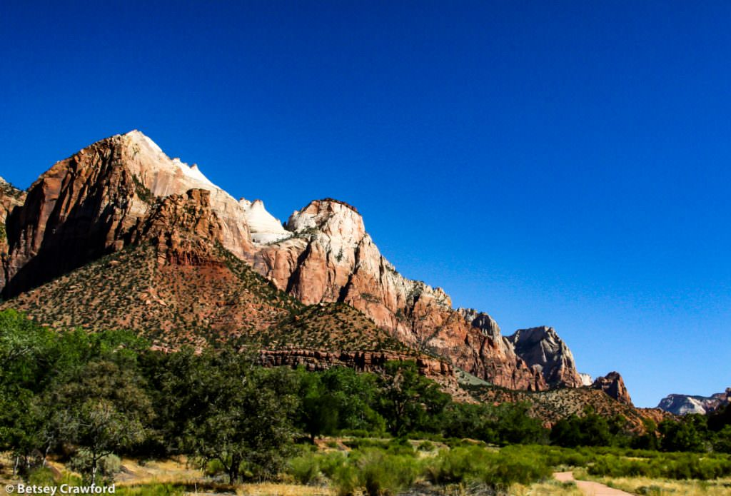 Mount Zion National Park. Deep time in Utah by Betsey Crawford