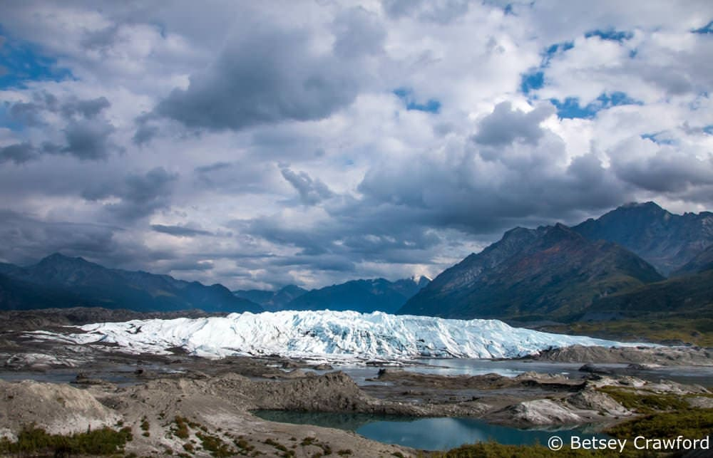 The Matanuska Glacier, Alaska by Betsey Crawford