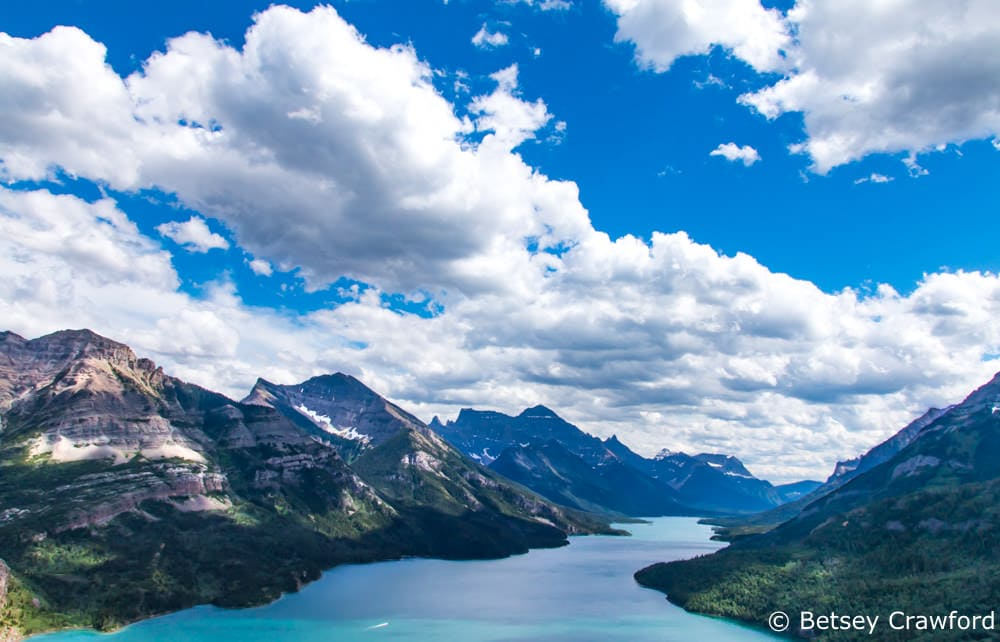 Waterton Lakes National Park in Alberta, Canada by Betsey Crawford