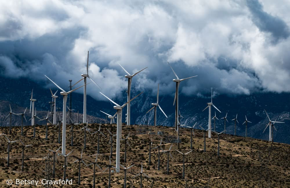 Onshore wind farms are the number two Drawdown solution. Photo by Betsey Crawford