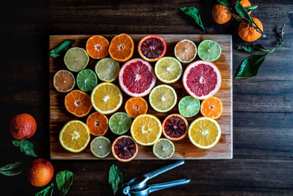 Citrus fruit colors by Edgar Castrejon