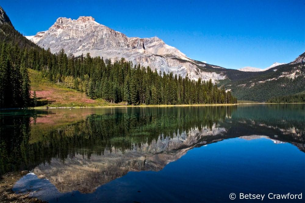 Saving half earth: Emerald Lake, Yolo National Park, British Columbia, Canada by Betsey Crawford