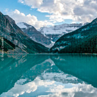 Lake Louise, Banff National Park, Alberta, Canada by Betsey Crawford