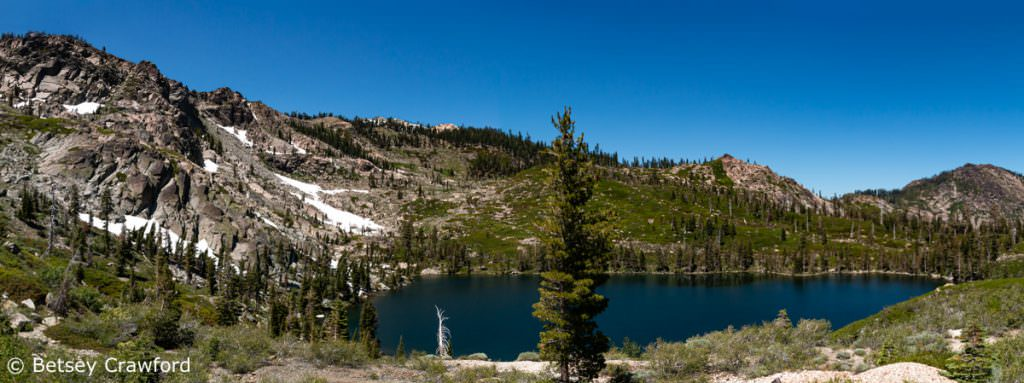 Round Lake, Sierra Nevada Mountains, California by Betsey Crawford