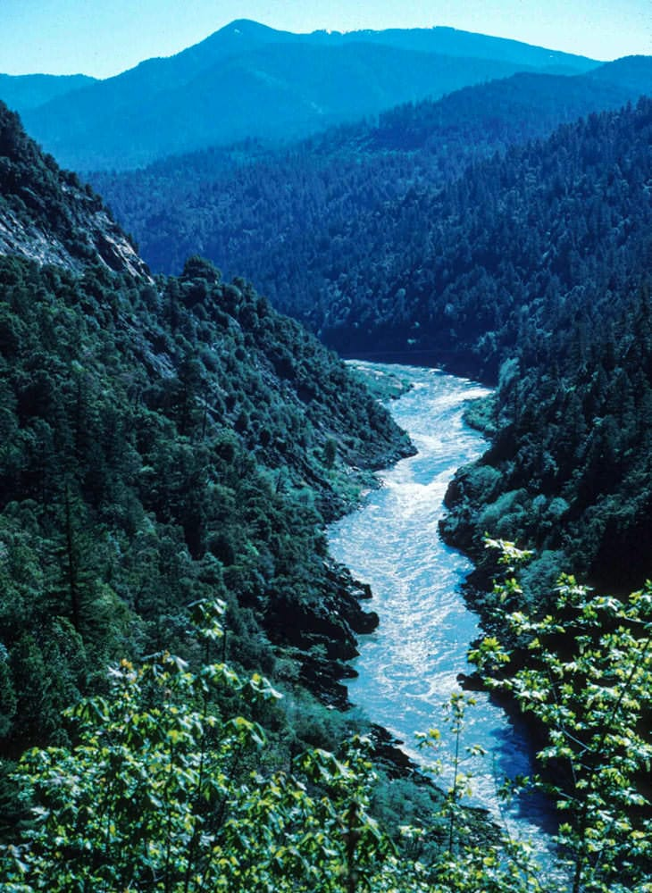 Rights of nature: Klamath River. Photo by Tupper Ansel Blake, U.S. Fish and Wildlife Service