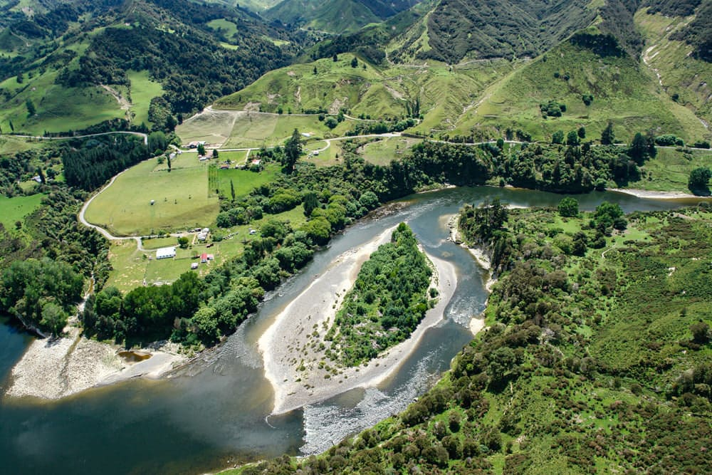 Rights of nature: An island in the Whanganui River. Photo by Duane Wilkins via Creative Commons