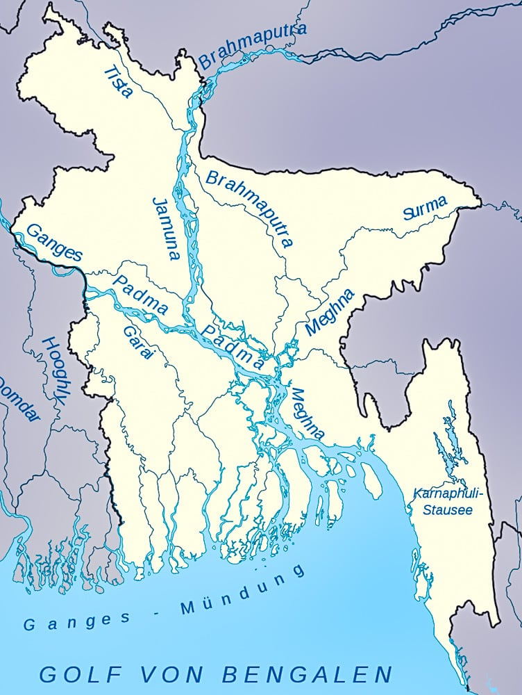 Bangladesh has granted all of it rivers standing in court
