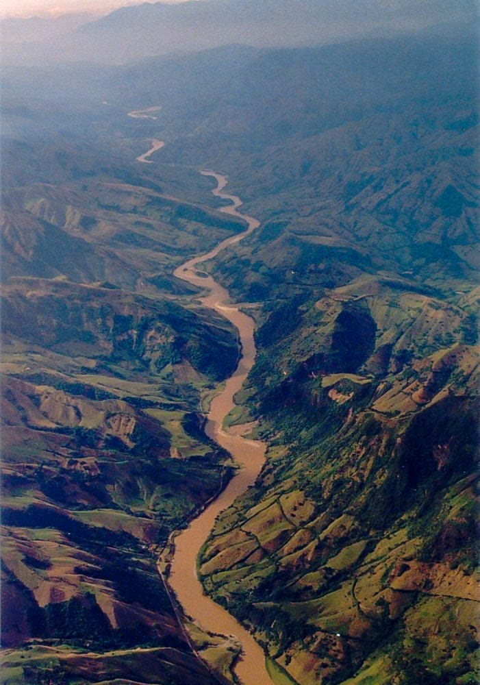 Cauca River Canyon in Colombia has been assigned rights