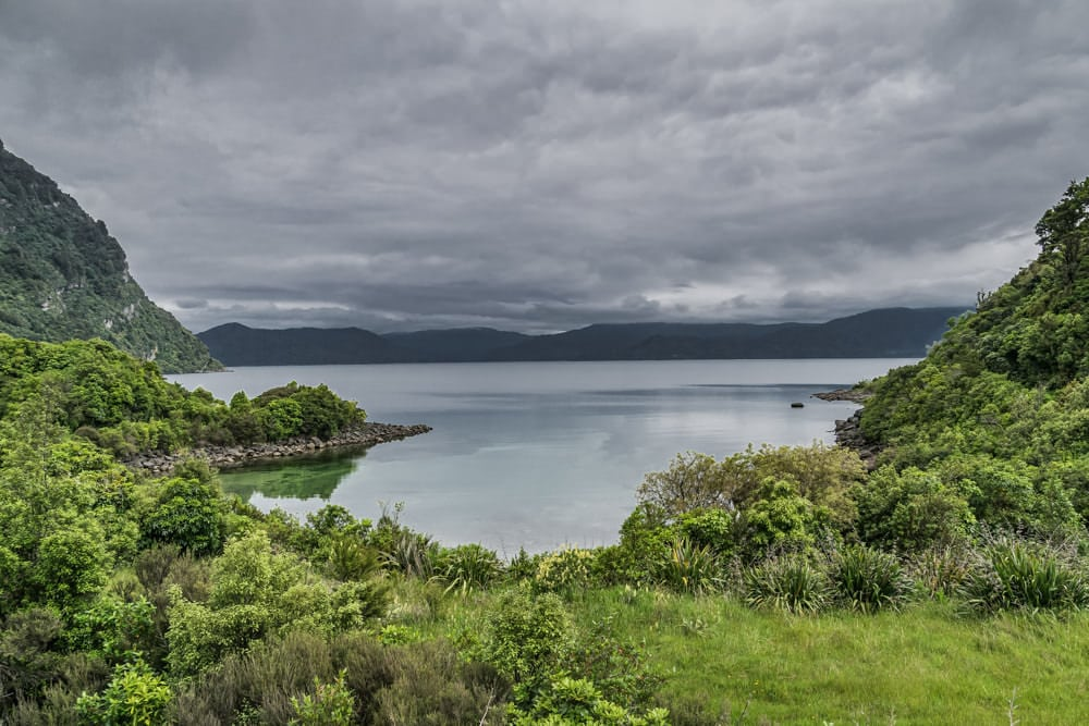 Lake Waikaremoana in Te Urewara, New Zealand has been granted rights of personhood.