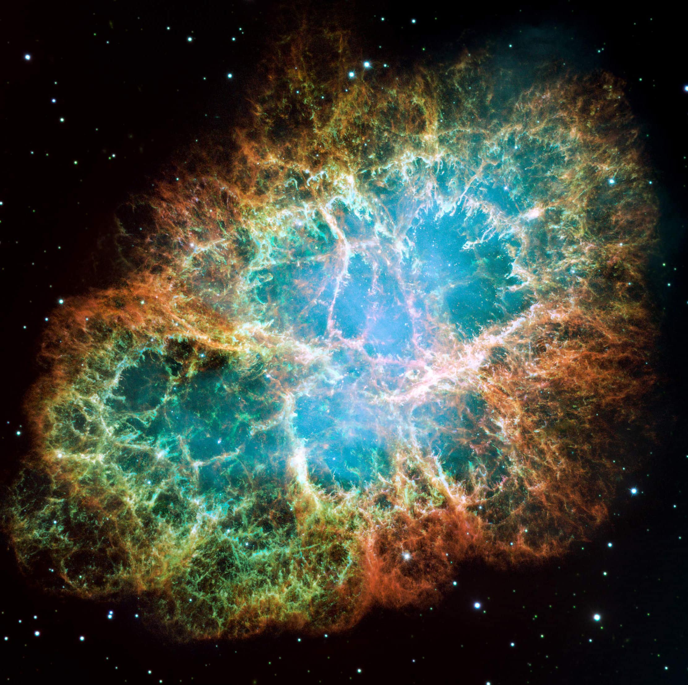 The Crab Nebula via NASA