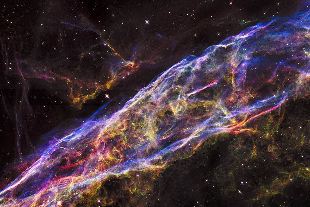 Cataclysm: the Veil Nebula via NASA