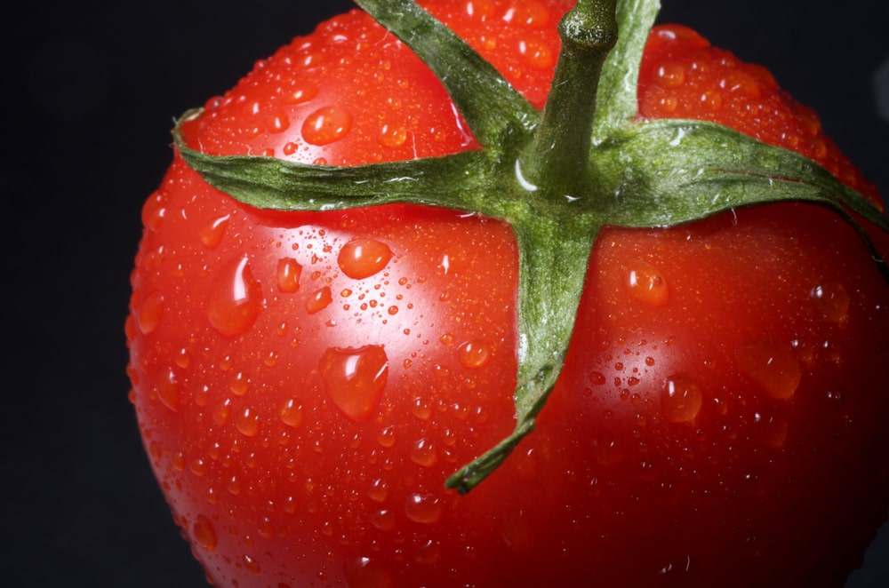 Photo of red tomato by Immo Wegman via Unsplash